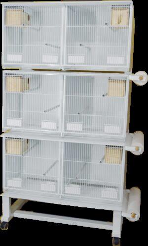 HT CONJ PASSARINHEIRA STYLE PSIT 1025*1900 C/ SUPORTE+PORTA-ROLOS+PAPEL - Produtos para aves - Viveiros para aves