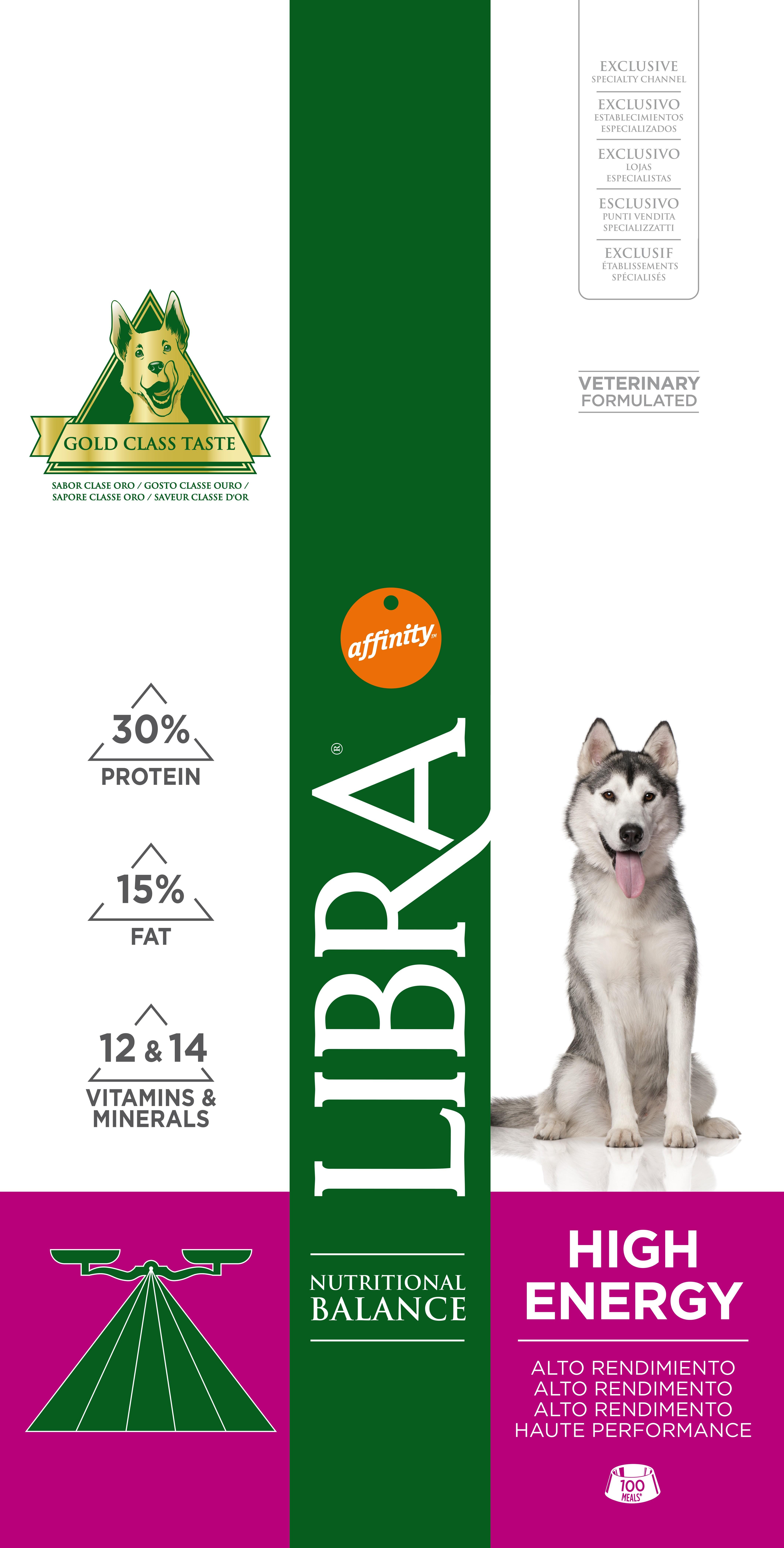 LIBRA DOG ADULT ENERGY 15 KG - Alimentação para cães - Produtos para cão
