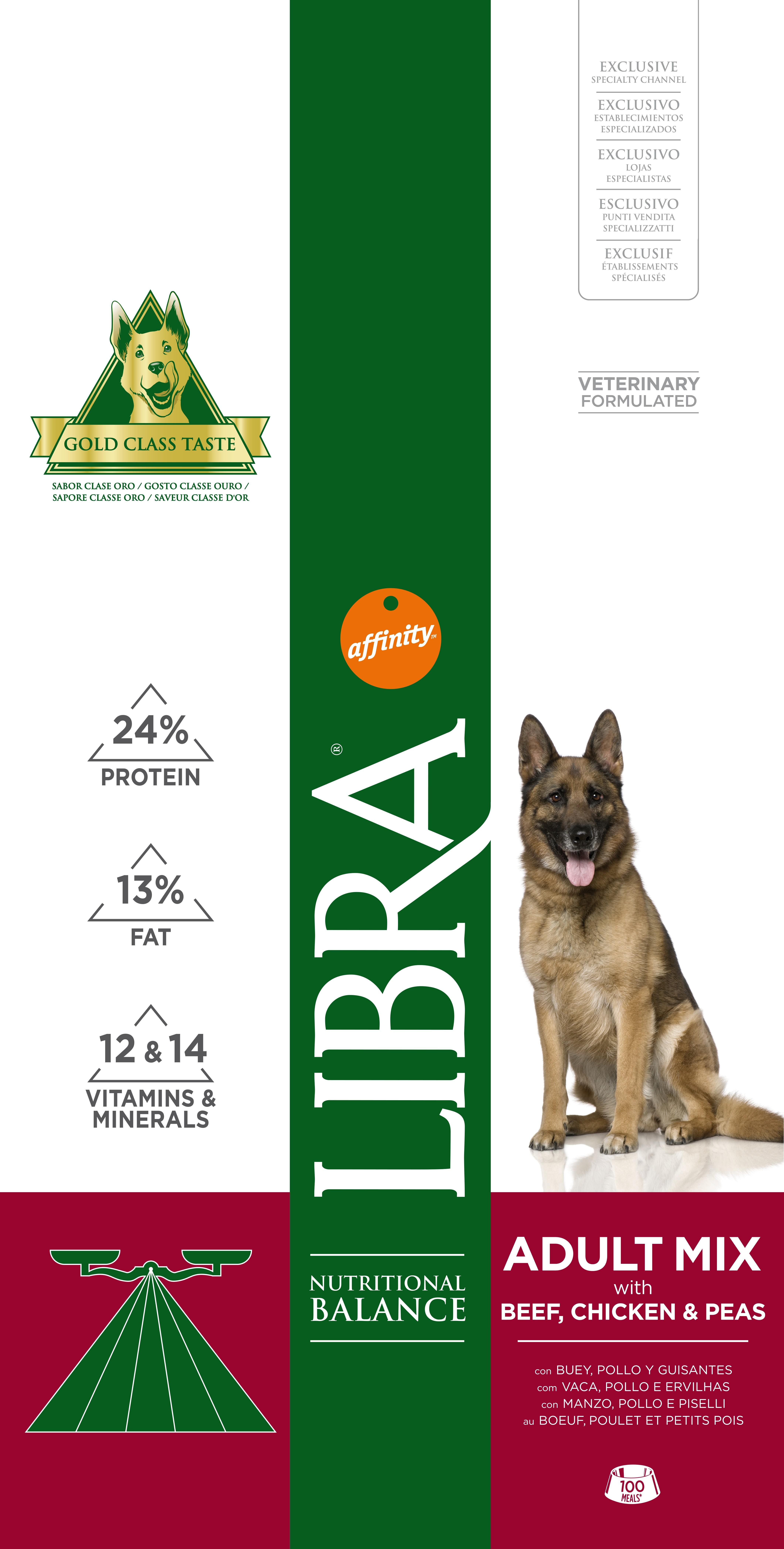 LIBRA DOG ADULT VACA 15 KG - Alimentação para cães - Produtos para cão