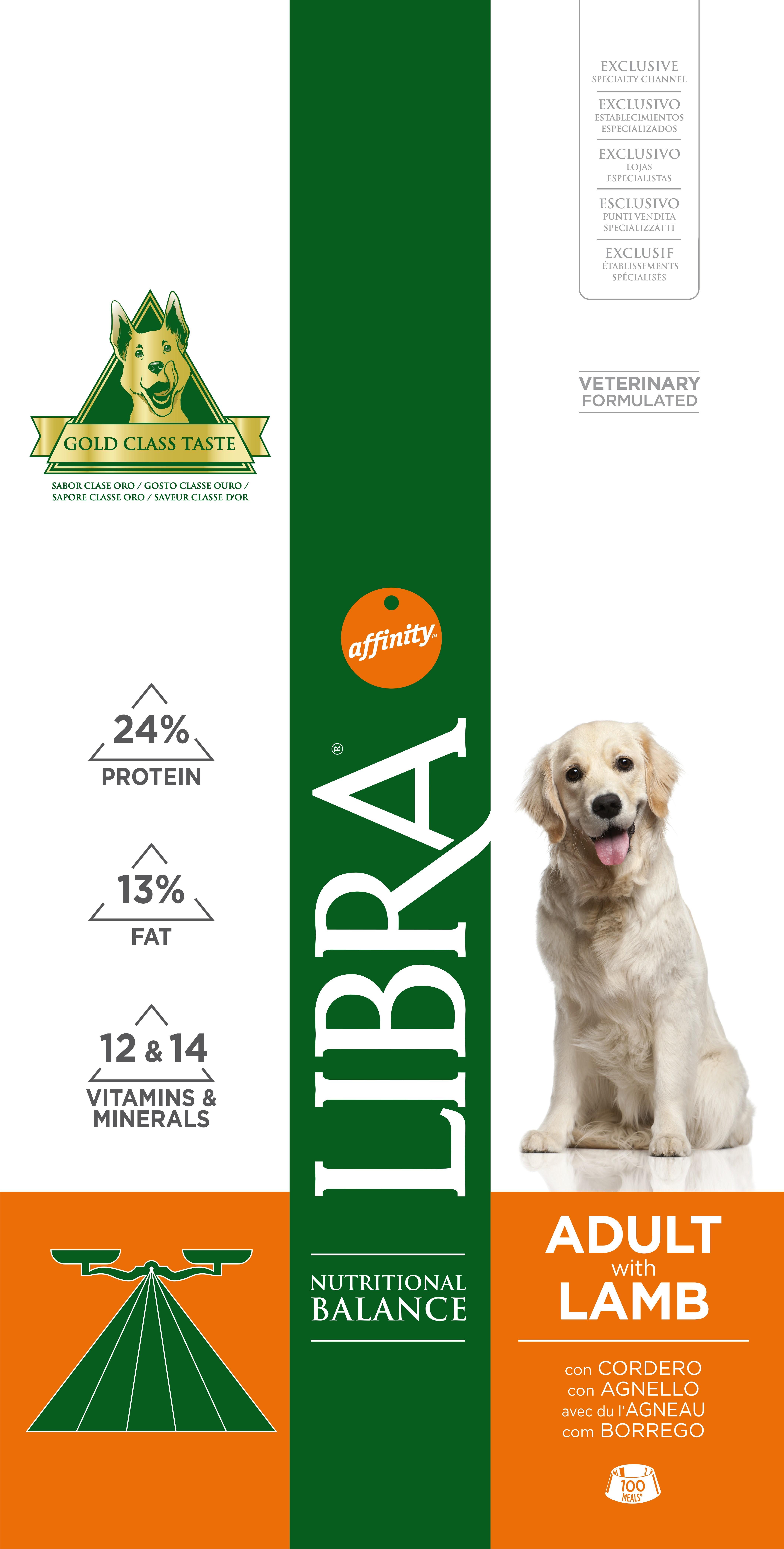 LIBRA DOG BORREGO 3 KG - Alimentação para cães - Produtos para cão