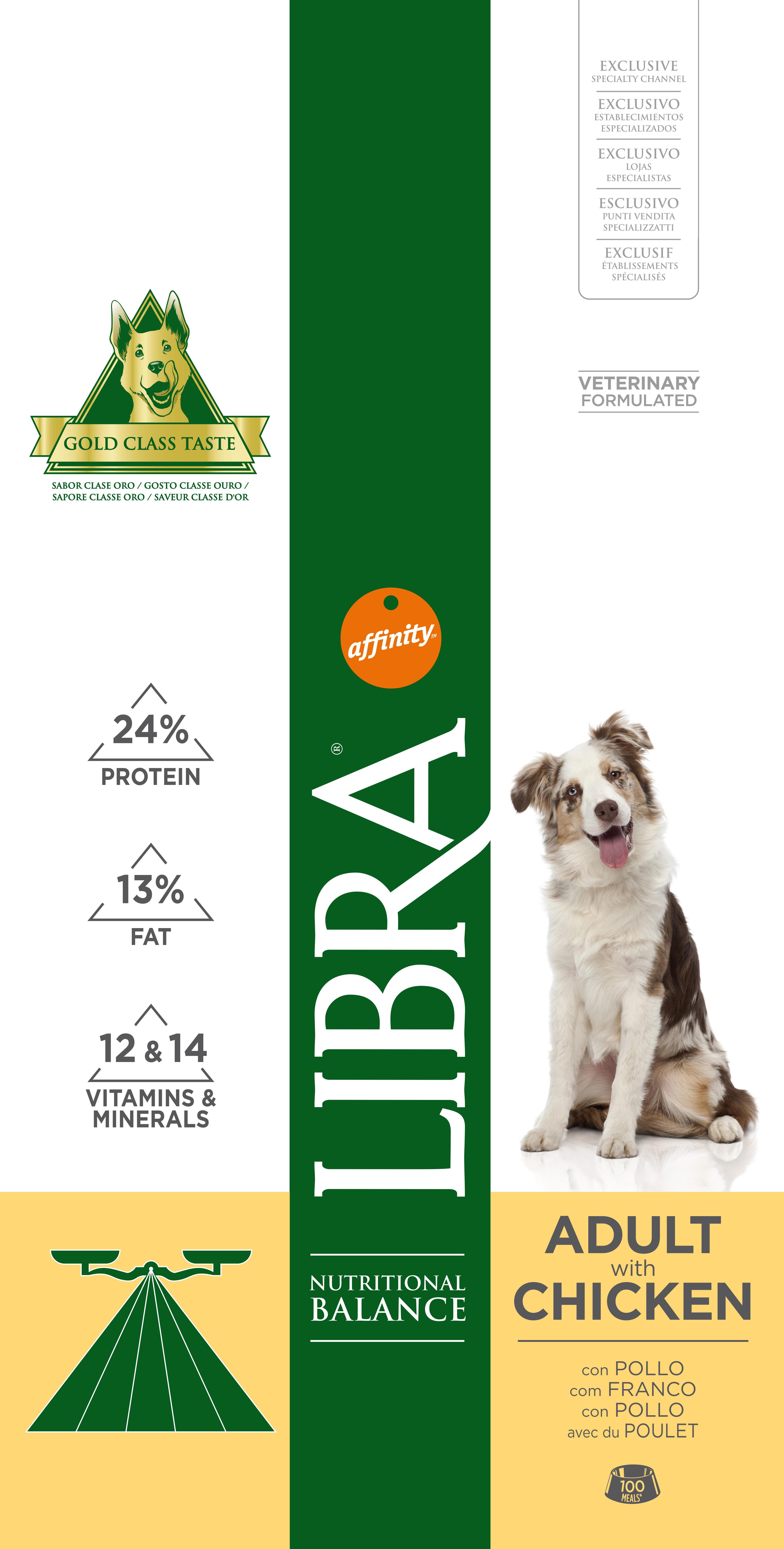 LIBRA DOG FRANGO 3 KG - Alimentação para cães - Produtos para cão