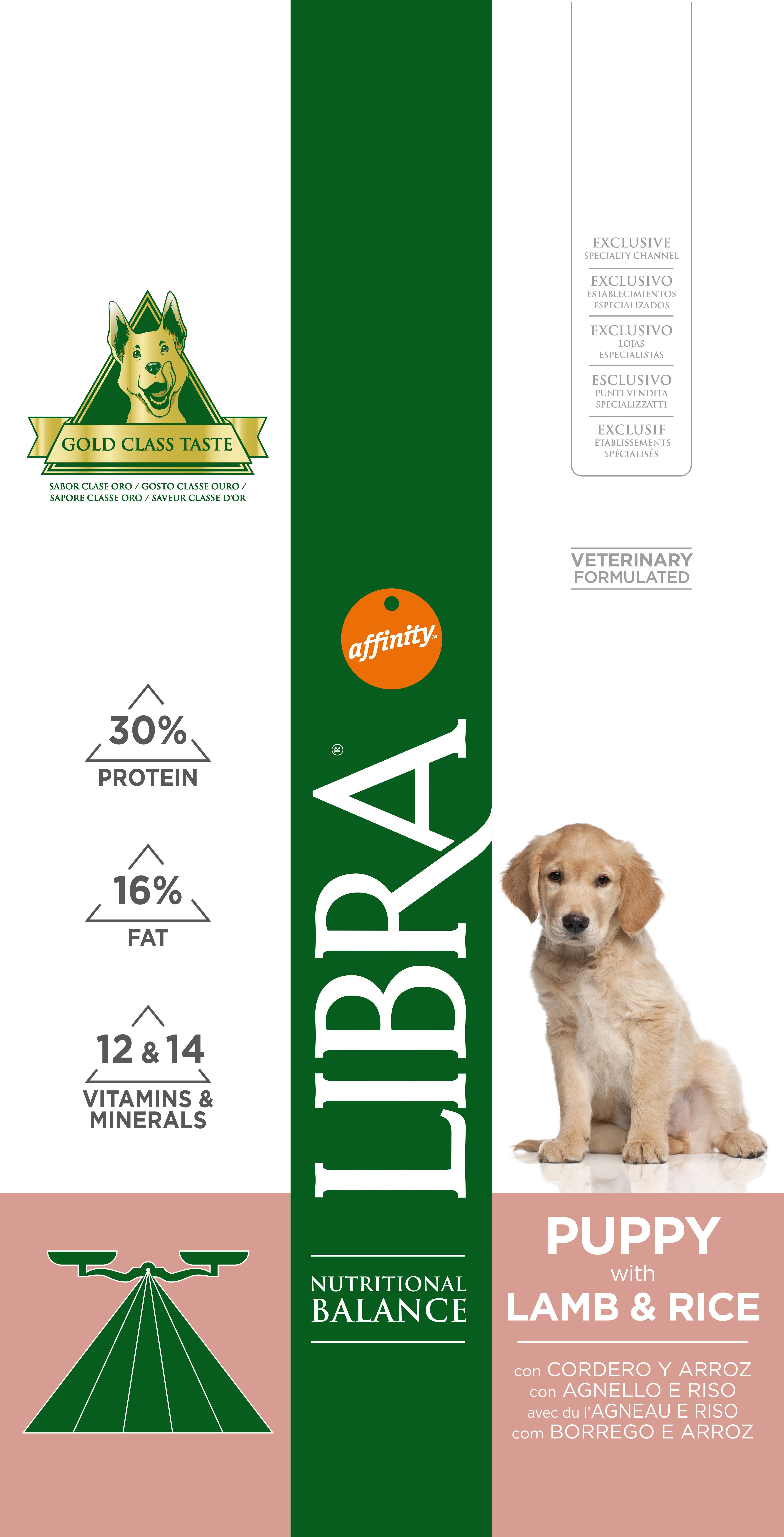 LIBRA DOG PUPPY BORREGO 15 KG - Alimentação para cães - Produtos para cão