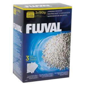 MASSA FILT ANTI-AMONIA FLUVAL 3*180 GR - Massa filtrante - Produtos para aquariofilia