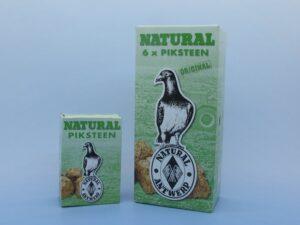 NATURAL BLOCO SALGADO 6*620 GR - Alimentação para pombos - Suplementos alimento para pombos