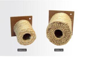 NINHO CORDA BRANCA PEQ / EXOTICOS - Ex - Produtos para aves