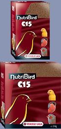 NUTRIBIRD C15 P/ CANARIOS 5 KG - Alimentação para aves - Produtos para aves