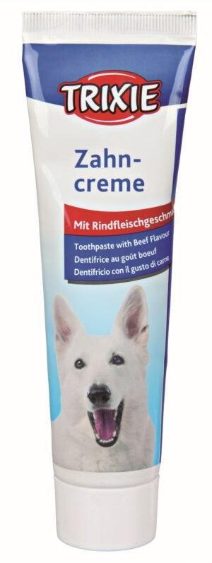 PASTA DENTIFRICA C/SABOR CARNE 100 GR - Produtos para cão - Tratamentos para cão