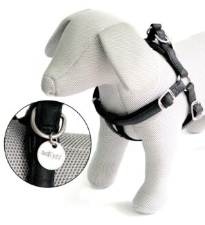 PEITORAL MYLORD PRETO 35-60*15 MM - Acessórios para cão - Produtos para cão