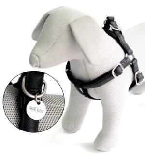 PEITORAL MYLORD PRETO 60-100*25 MM - Acessórios para cão - Produtos para cão