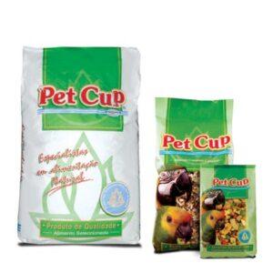 PETCUP MIST PAPAGAIO STANDART 3 KG - Alimentação para aves - Produtos para aves