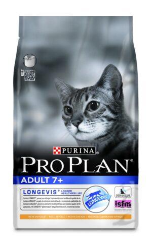 PRO PLAN ADULTO 7+ FRANGO 3 KG - Alimentação para gatos - Produtos para gato