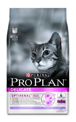 PRO PLAN DELICATE PERU 3 KG - Alimentação para gatos - Produtos para gato
