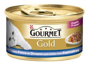 PU GOLD DUPLO PRAZER PX OCEANO + ESPINAF 85 GR - Alimentação Humida para gatos - Purina Gold