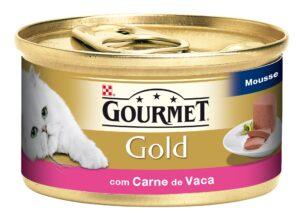 PU GOLD MOUSE CARNE DE VACA 85 GR - Alimentação Humida para gatos - Purina Gold