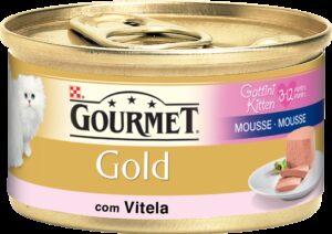 PU GOLD MOUSE GATINHOS VITELA 85 GR - Alimentação Humida para gatos - Purina Gold