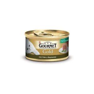 PU GOLD MOUSE PATO ESPINAFRES 85 GR - Alimentação Humida para gatos - Purina Gold