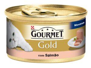 PU GOLD MOUSE SALMAO 85 GR - Alimentação Humida para gatos - Purina Gold