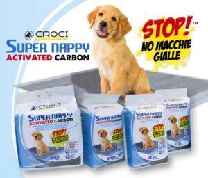 RESGUARDO SUPER NAPPY CARVAO ACTIVADO 14 UN 57*54 CM - Diversos para higiene - Produtos para cão