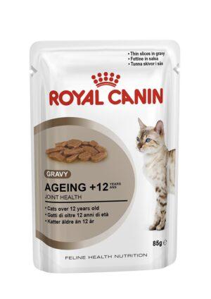 ROYAL CANIN AGEING +12 (gravy) 85 GR - Alimentação Humida para gatos - Royal Canin
