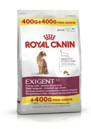 ROYAL CANIN AROMATIC EXIGENT 400 + 400 GR - Alimentação para gatos - Royal Canin