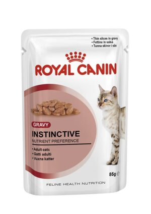 ROYAL CANIN INSTINCTIVE (gravy) 85 GR - Alimentação Humida para gatos - Royal Canin