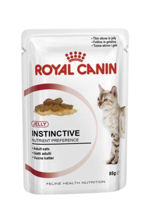 ROYAL CANIN INSTINCTIVE (jelly) 85 GR - Alimentação Humida para gatos - Royal Canin