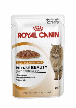ROYAL CANIN INTENSE BEAUTY (jelly) 85 GR - Alimentação Humida para gatos - Royal Canin
