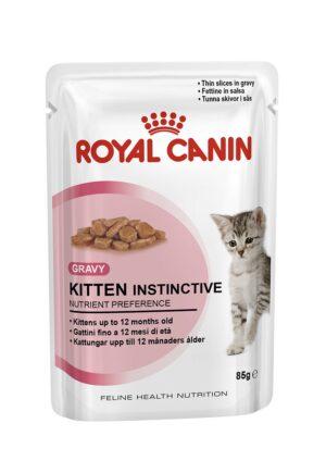 ROYAL CANIN KITTEN INSTINCTIVE (gravy) 85 GR - Alimentação Humida para gatos - Royal Canin