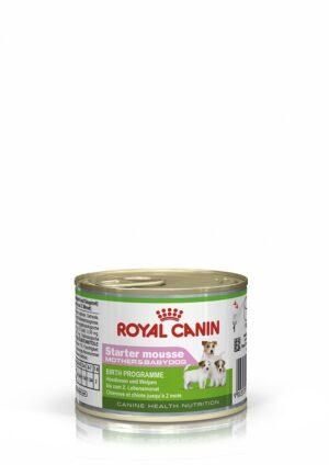ROYAL CANIN MOUSSE STARTER 195 GR LATA - Alimentação Humida para cães - Royal Canin