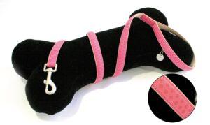 TRELA MYLORD ROSA 120*20 MM - Acessórios para cão - Trelas cabedal para cão