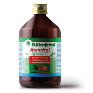 ROHNFRIED ATEMFREI 500 ML - Produtos para pombos - Tratamentos para Pombos