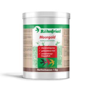 ROHNFRIED MOORGOLD 1000 GR - Produtos para pombos - Tratamentos para Pombos