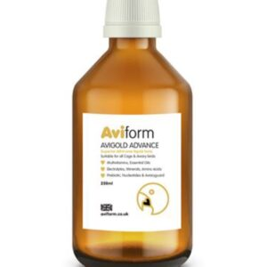 AVIFORM AVIGOLD ADVANCE 250 ML - Aviform - Tratamentos para Pombos
