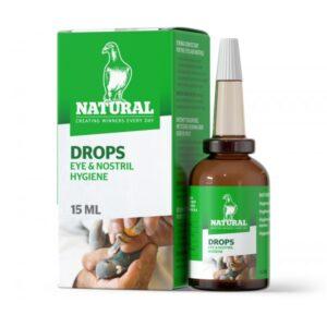 NATURAL DROPS olhos e narinas 60 ML - Natural - Tratamentos para Pombos