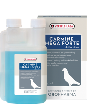 OROPHARMA CARMINE MEGA FORTE 250 ML - Oropharma - Versele - Laga - Tratamentos para Pombos