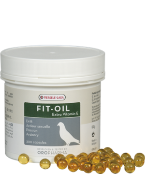 OROPHARMA FIT-OIL 300 PILS - Oropharma - Versele - Laga - Tratamentos para Pombos