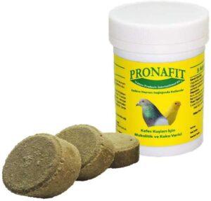 PRONAFIT PASTILHA FUMO 3 PAST - Produtos para pombos - Varios
