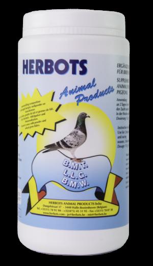 HERBOTS BMT 1000 GR - Herbots - Tratamentos para Pombos