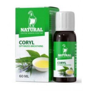 NATURAL CORYL 60 ML - Natural - Tratamentos para Pombos